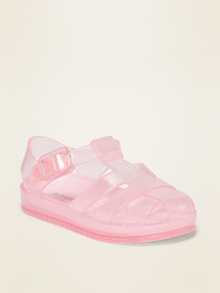 Old Navy Jelly Fisherman Sandals for Toddler Girls