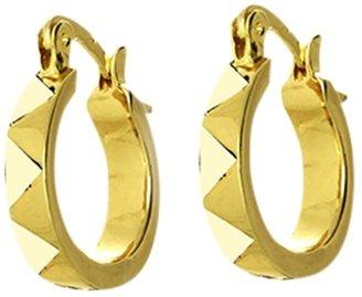 House Of Harlow Enamel Huggie Earrings
