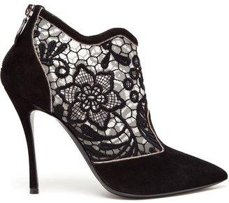 Nicholas Kirkwood floral embroidered booties