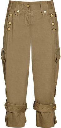 Dolce & Gabbana Cropped cotton pants