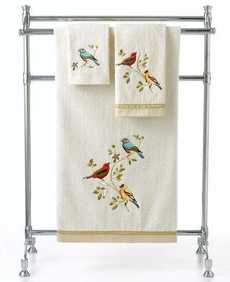 """Avanti Bath Towels, Gilded Birds 25"""" x 50"""" Bath Towel"""