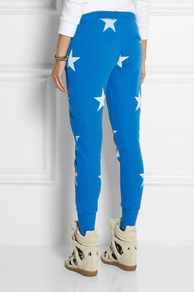 Zoe Karssen Star-print cotton-blend jersey track pants