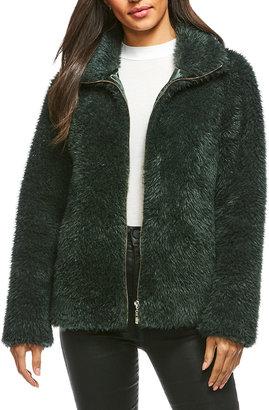 Fabulous Furs Essential Faux-Fur Zip Jacket