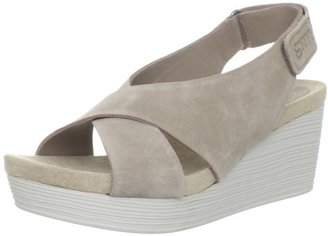 Gunmetal Women's Megan Wedge Sandal