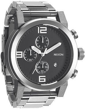 Nixon The Ride Sterling Silver Watch