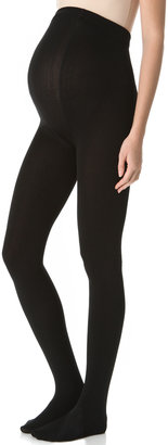 Plush Maternity Fleece Lined Tights $36 thestylecure.com