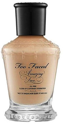 Too Faced Amazing Face Liquid Foundation, Warm Nude 1 oz (30 ml)