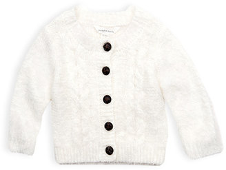 Pumpkin Patch Fluffy Cable Cardigan