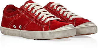 NDC Cherry Suede Sneakers