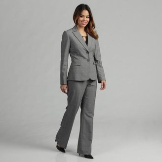 Tahari ASL Women's Plaid Pant Suit $52.49 thestylecure.com