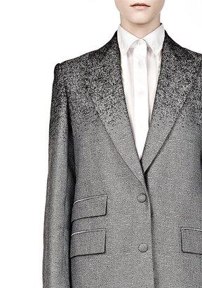 Alexander Wang Tailored Degrade Double Breast Coat