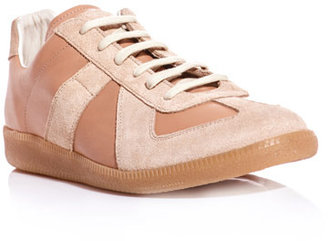 Maison Martin Margiela Classic leather and suede trainers