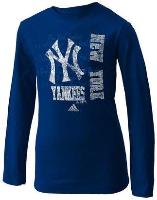 New York Yankees Adidas tee - girls 7-16