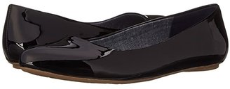 Dr. Scholl's Really (Black Patent) Women's Flat Shoes