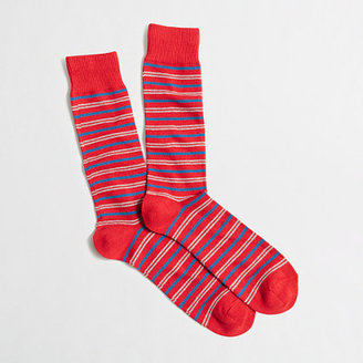 J.Crew Factory Factory double-striped socks