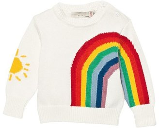 Stella McCartney White Rainbow Jumper