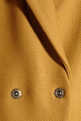 See by Chloe Wool-blend tweed coat