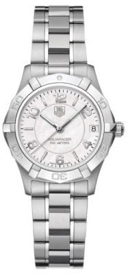 Tag Heuer Ladies' Aquaracer Mother-of-Pearl Dial Oversized Face Watch