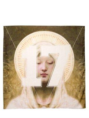 Givenchy Madonna 17 Printed Cotton Modal Scarf