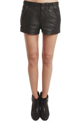Rag and Bone Rag & Bone Leather Separating Short
