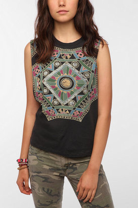 Urban Outfitters Title Unknown Boho Octo Muscle Tee