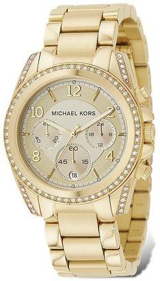 Michael Kors Gold-Tone Chronograph Watch, 39mm $275 thestylecure.com