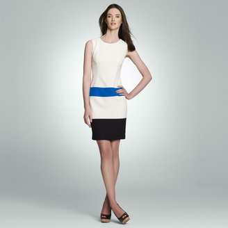 Jones New York Color Block Sheath Dress