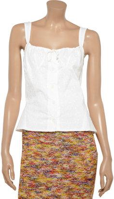 Vivienne Westwood Libertine cotton-eyelet top