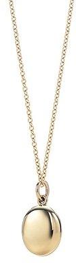 Tiffany & Co. Oval locket and chain