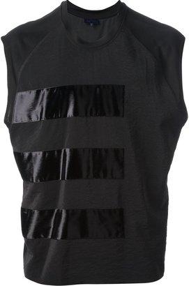 Lanvin sleeveless panelled t-shirt