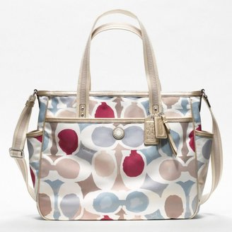 Coach Baby Bag Painted Signature C Tote