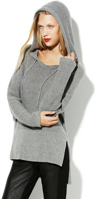 Vince Long Sleeve Ribbed Sweater