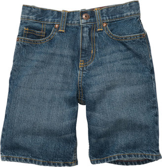 Osh Kosh Classic Denim Shorts - Letterman Wash