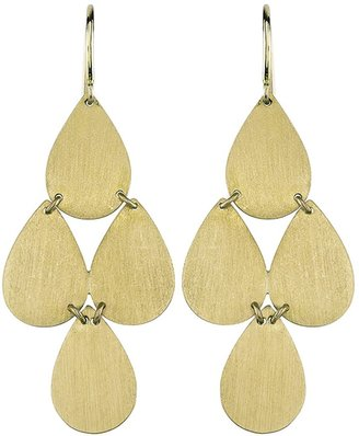 Irene Neuwirth Signature Small Teardrop Chandelier Earrings - Yellow Gold