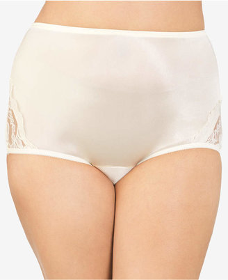 Vanity Fair Perfectly Yours Lace Nouveau Nylon Brief Underwear 13001, extended sizes available