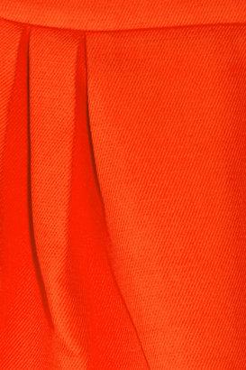 Miu Miu Cotton-twill pleated mini skirt