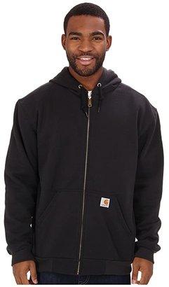 Carhartt RD Rutland Thermal-Lined Hooded Zip-Front Sweatshirt (Black) Men's Sweatshirt