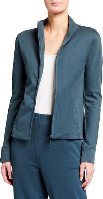MAX MARA LEISURE Cordoba Zip-Up Jersey Jacket