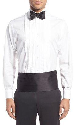 Men's David Donahue Cummerbund & Self-Tied Bow Tie Set $135 thestylecure.com