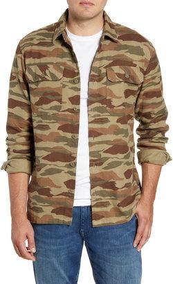 Patagonia Fjord Regular Fit Organic Cotton Flannel Shirt
