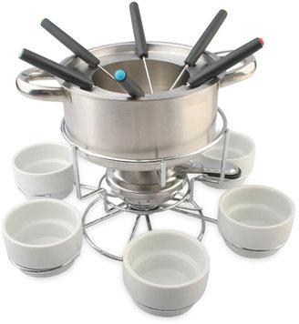 Lazy Susan My Perfect Kitchen™ Stainless Steel Fondue Set