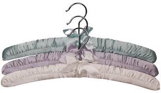 Richard's Homewares Richards Homewares Satin Padded Shirt Hanger (Set of 6)