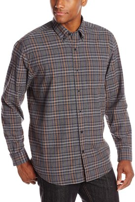 Cutter & Buck Men's Long Sleeve Dixon Plaid Shirt