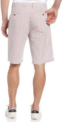 Tailor Vintage Check Seersucker Shorts