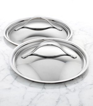 """Anolon Nouvelle 8.5"""" & 10"""" Stainless Steel Lid Set"""