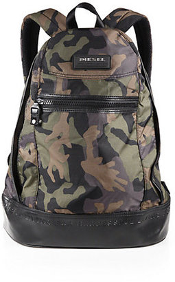 Diesel Camo On The Road Backpack