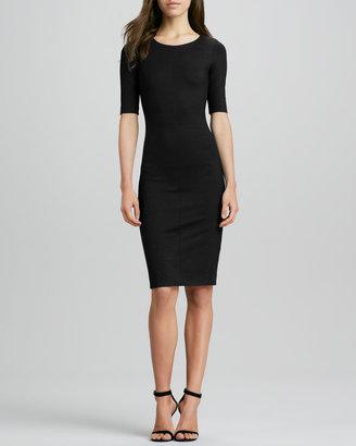 Diane von Furstenberg Raquel Half-Sleeve Knit Sheath Dress