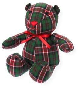 Janie and Jack Plaid Bear Toy