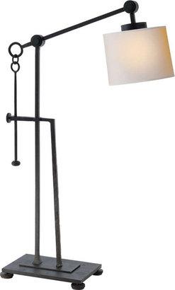 Ian Fowler ASPEN FORGED IRON TABLE LAMP