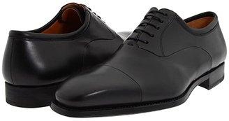 Magnanni Federico (Black) Men's Lace Up Cap Toe Shoes